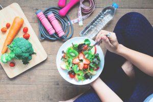Alimentos antes do treino